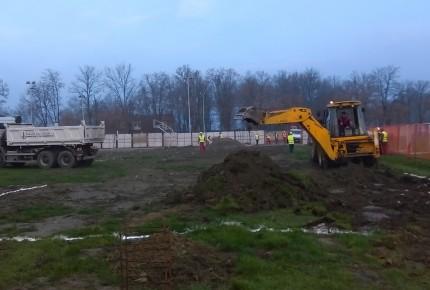 Izgradnja sportske hale u Gložanu, opština Bački Petrovac